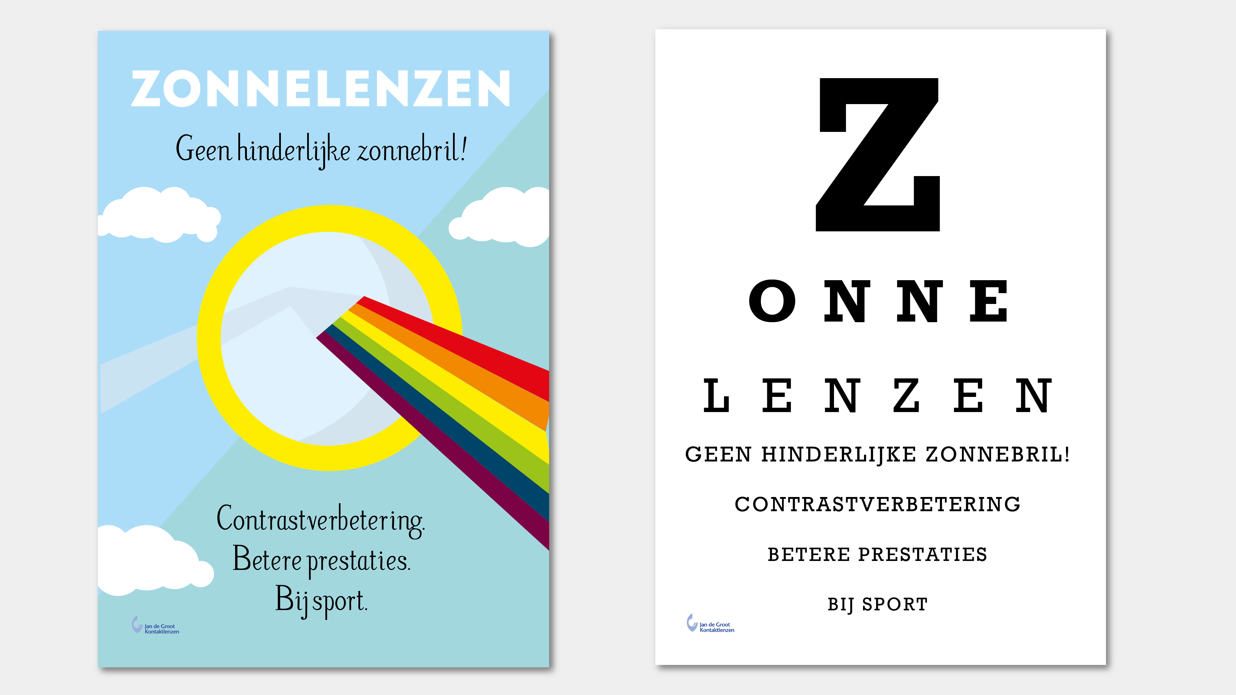 Posters Opticien Groningen Vera Post