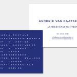 Visitekaartje Annerie van Daatselaar Vera Post