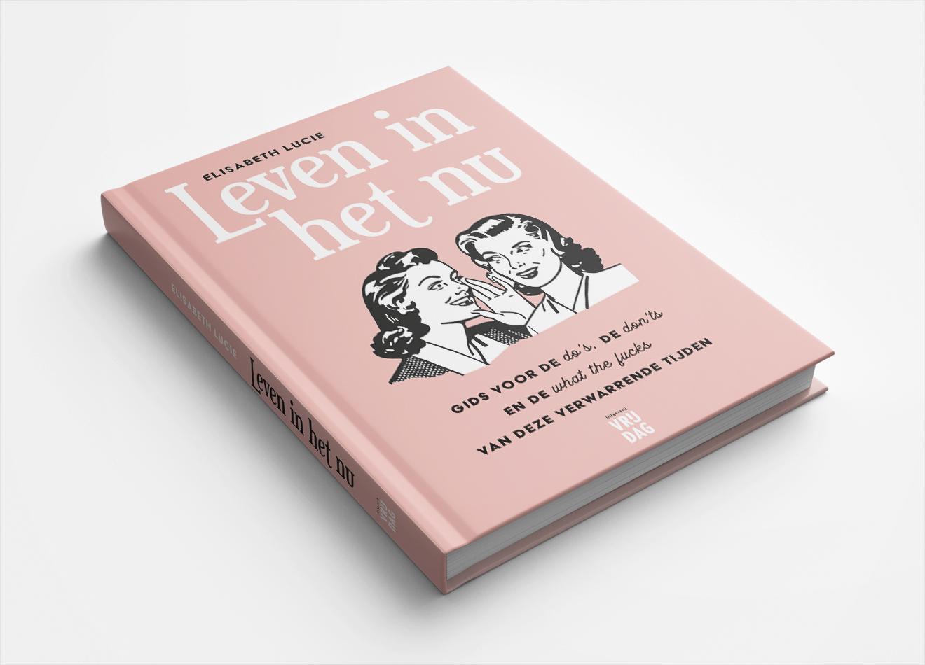 Boekontwerp Uitgeverij Vrijdag Vera Post