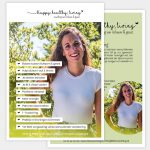 Flyer Happy, Healthy, Living Vera Post