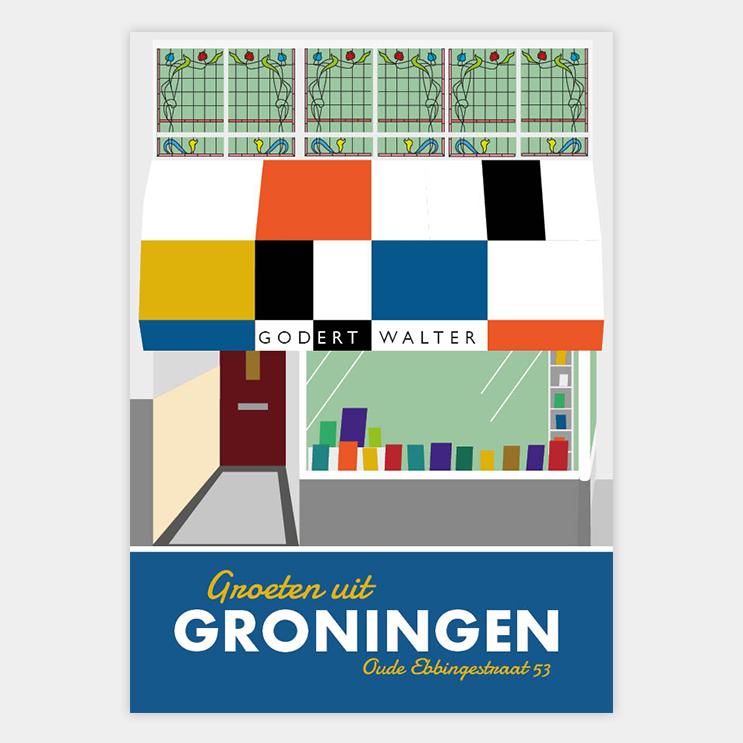 Godert Walter Postkaart Vera Post