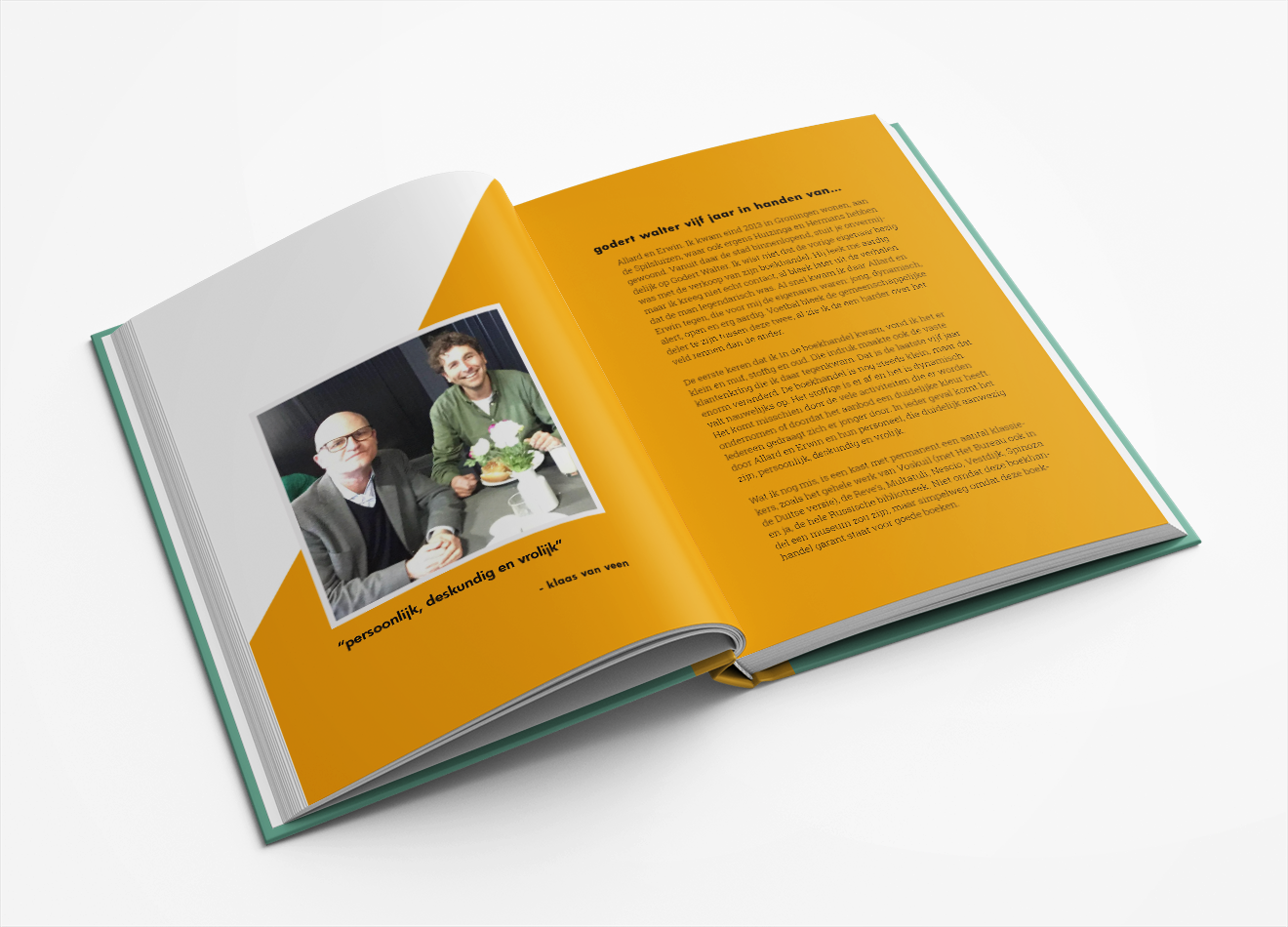 Jubileum boek Godert Walter Vera Post