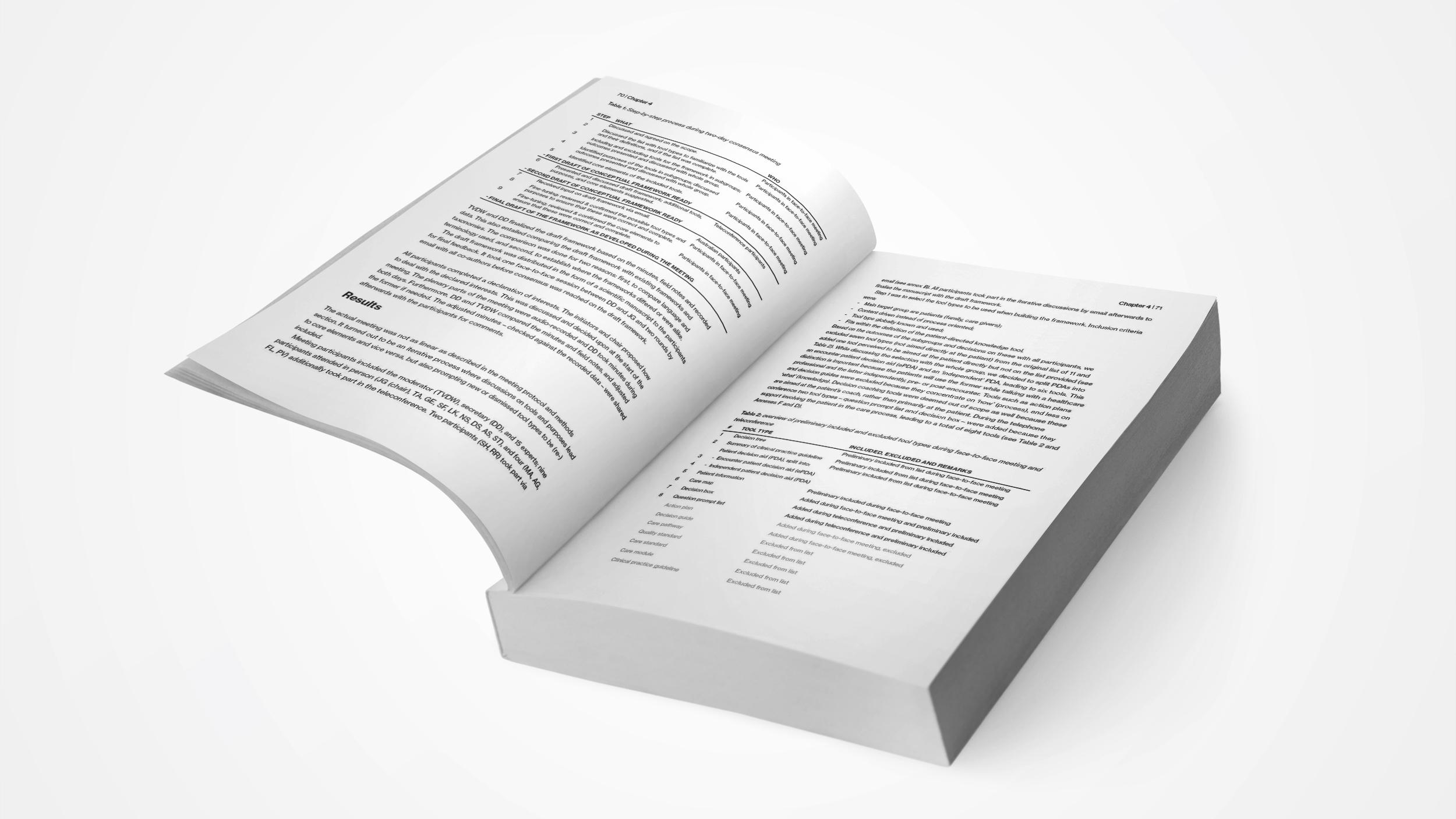 Proefschrift ontwerp - Vera Post