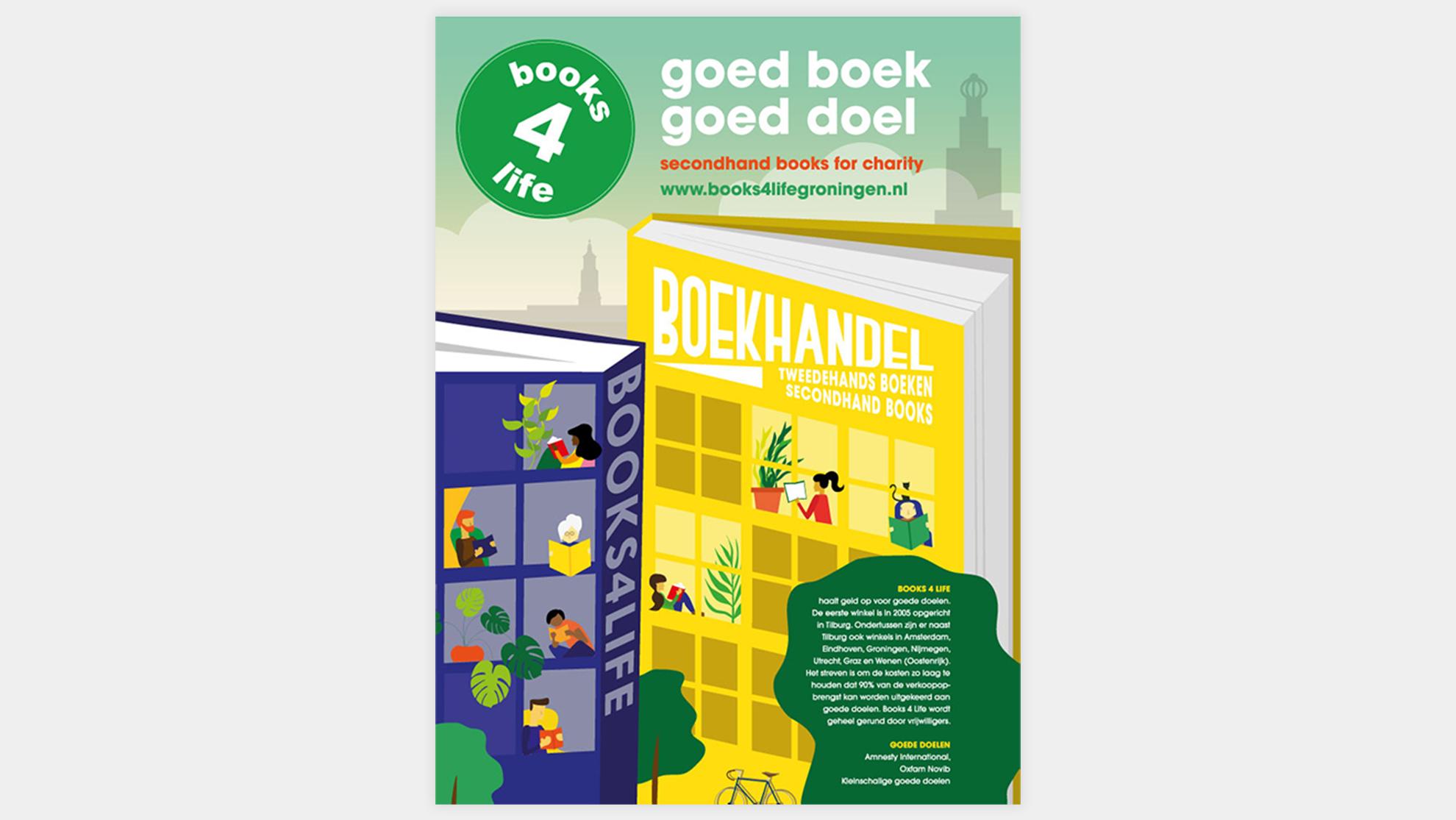 Books4life Groningen ontwerp
