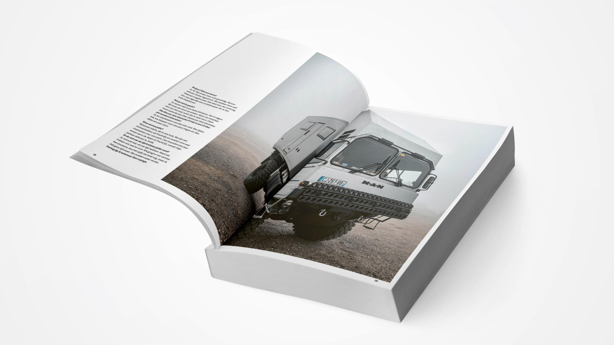 Boekvezorging Binnenwerk Nordkapp Stories - Michael Van Peel - Uitgeverij Vrijdag