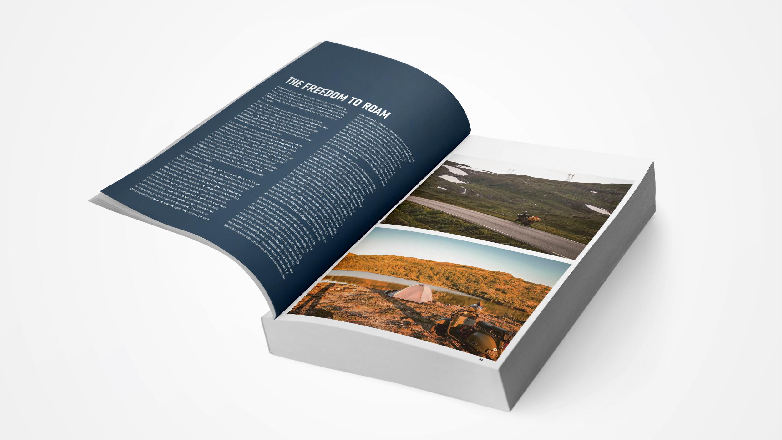 Boekverzorging Binnenwerk Nordkapp Stories - Michael Van Peel - Uitgeverij Vrijdag