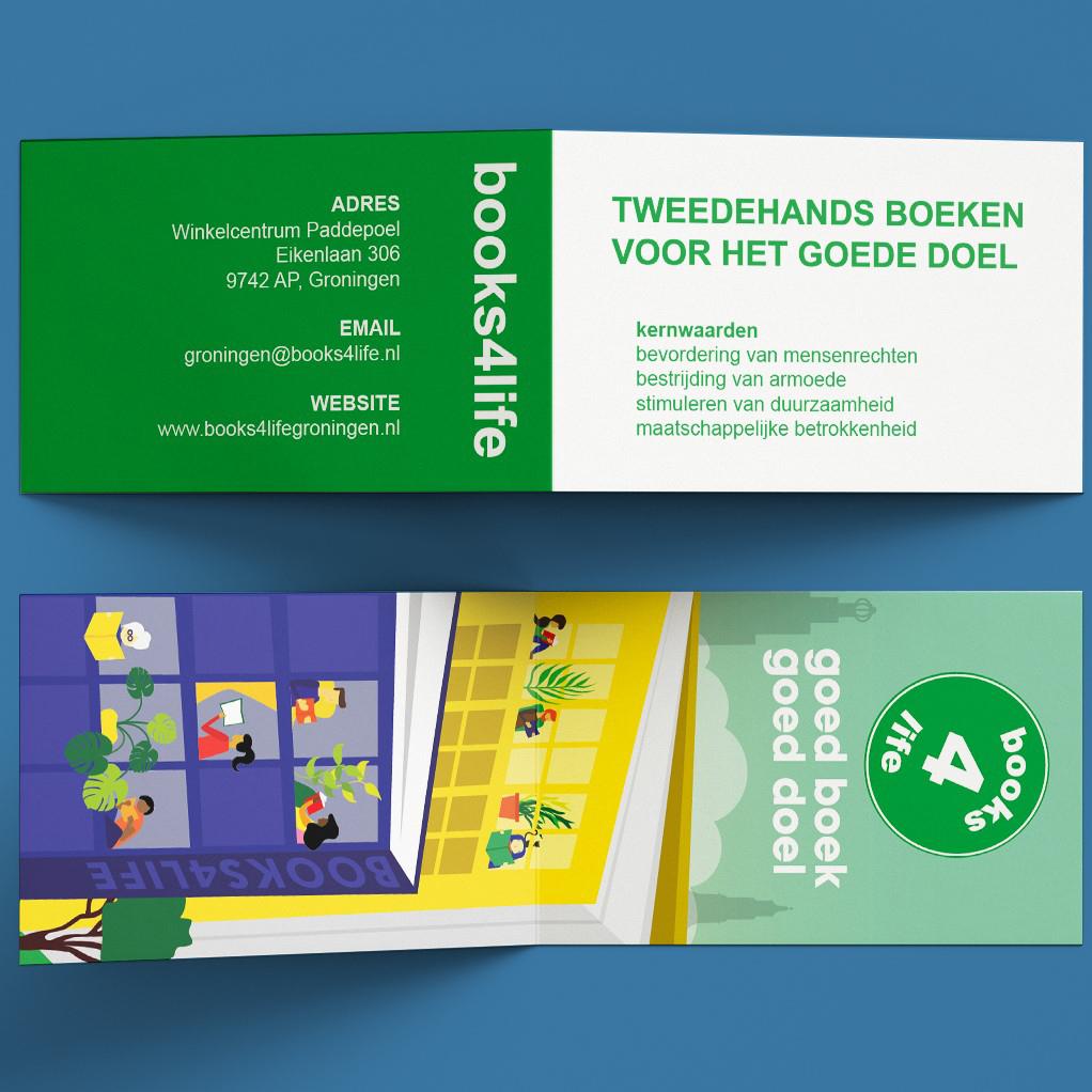 Boekenleggger Books4Life Groningen - Vera Post