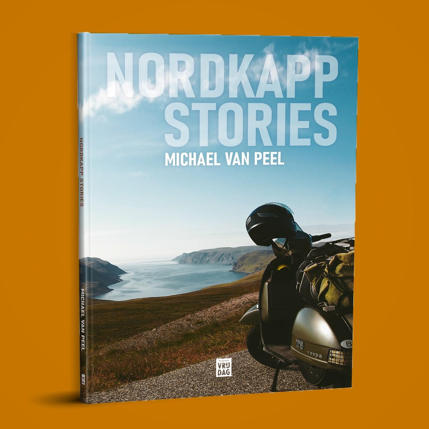 Omslag Nordkapp Stories - Michael Van Peel - Uitgeverij Vrijdag