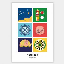 Poster verjaardagscadeau gepersonaliseerd