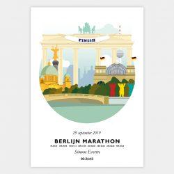 Poster marathon berlijn