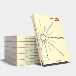 Boekomslag Voor niks gaat de zon op Inez van Eijk Uitgeverij Brooklyn