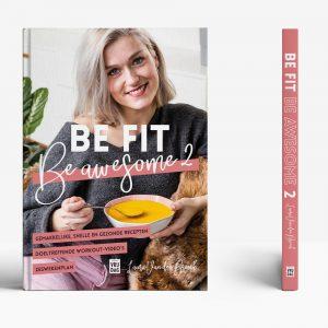 Boekverzorging Be Fit, Be Awesome Laura Van den Broeck - Vera Post