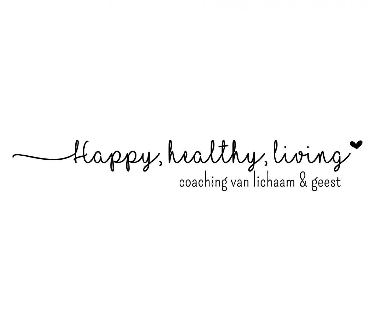 Logo Happy, Healthy, Living coaching